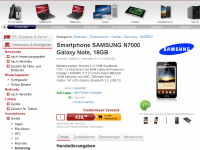 Ditech - Galaxy Note 439 Euro