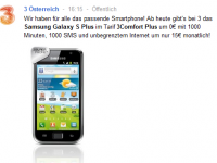 3Comfort Plus mit Samsung Galaxy S Plus